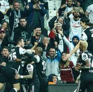 Beşiktaş-Akhisar Belediyespor karşılaşmasından kareler