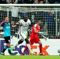Beşiktaş - Hapoel Beer Sheva maçından kareler