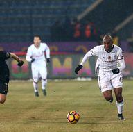 Osmanlıspor-Beşiktaş karşılaşmasından kareler