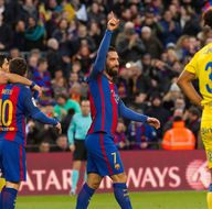 Arda Turan rekor kırdı, Barcelona kazandı