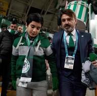 Şehit Fethi Sekin'in oğlu Atiker Konyaspor-Galatasaray maçında