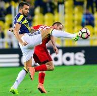 Fenerbahçe-Gaziantepspor maçından kareler