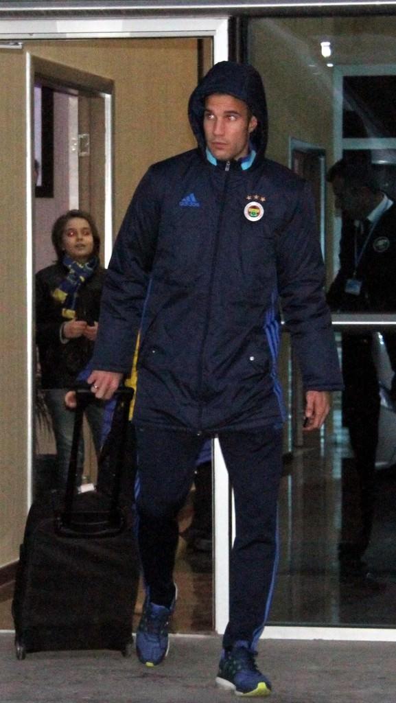 Fenerbahçe kafilesi Kayseri'ye gitti