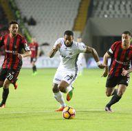Gaziantepspor-Fenerbahçe karşılaşmasından kareler