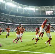 Beşiktaş-Galatasaray maçından kareler