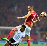 Galatasaray-Beşiktaş karşılaşmasından kareler