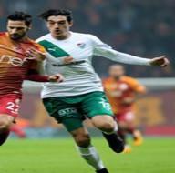 Galatasaray-Bursaspor karşılaşmasından kareler