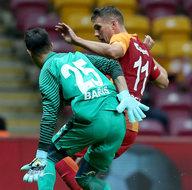 Galatasaray-Dersimspor karşılaşmasından kareler