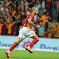 Galatasaray-Rizespor maçından kareler