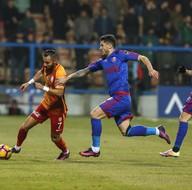 Kardemir Karabükspor-Galatasaray karşılaşmasından kareler