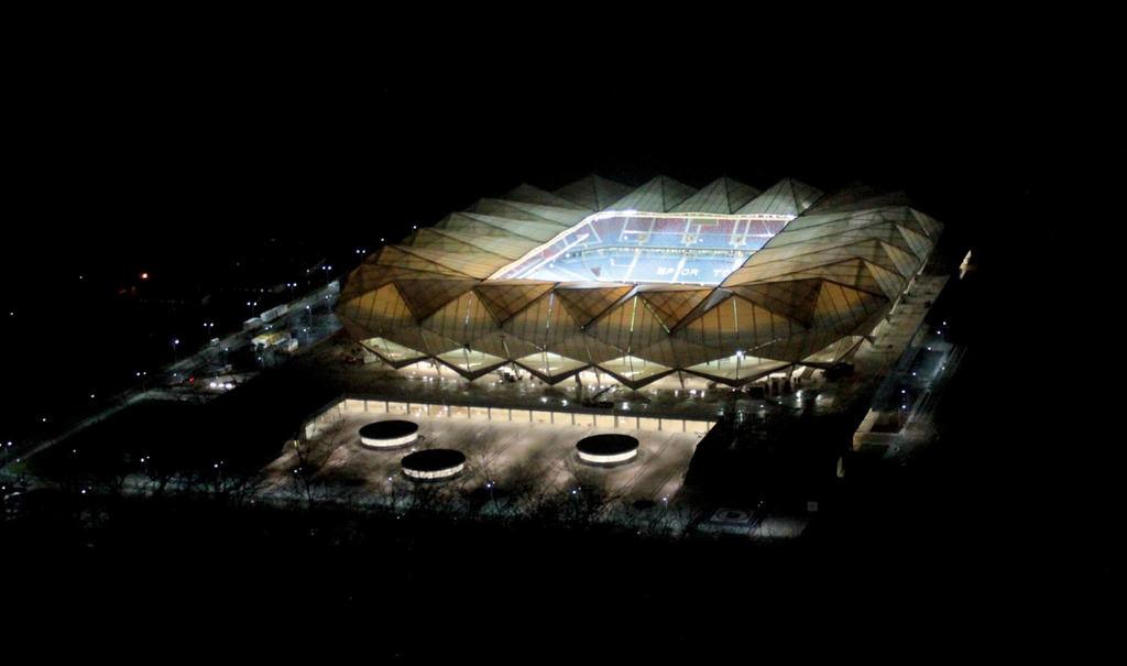 Trabzonspor'un yeni evi açılıyor