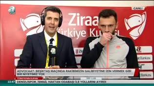 """Vedat Muriqi: """"Kırmızı kart bize yardımcı oldu"""""""