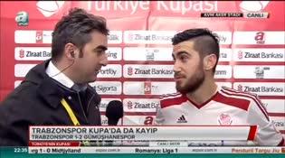 Trabzonspor maçının kahramanları A Spor'a konuştu