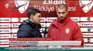 Eren Derdiyok: Böyle maçlarda öne geçmek önemli