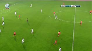 Medipol Başakşehir: 1 - Akhisar Belediyespor: 1
