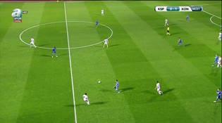 Kasımpaşa: 0 - Atiker Konyaspor: 2