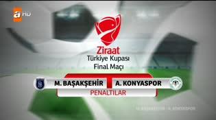 Medipol Başakşehir- Atiker Konyaspor (PENALTILAR)