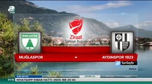 Muğlaspor: 1 - Aydınspor 1923: 0 (ÖZET)