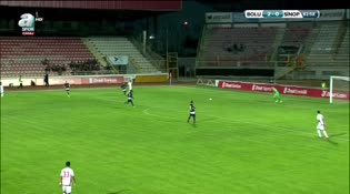 Boluspor: 3 - Sinopspor: 0